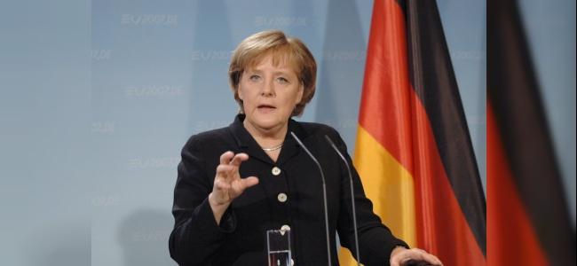 Almanya Başbakanı Angela Merkel: ''Türkiye de o masada olmalı''dedi