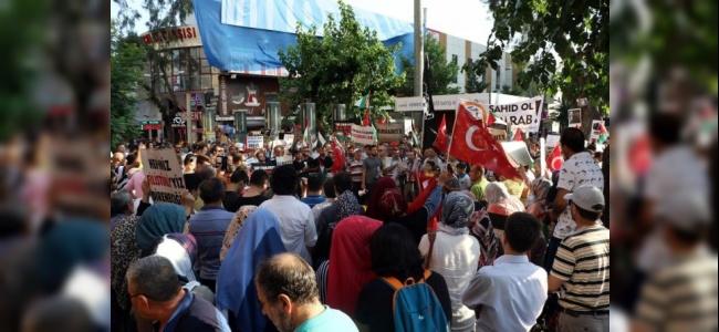 Antalya'da İsrail'e Yönelik Protestolar Devam Etti