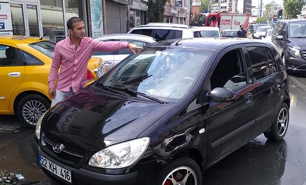 İstanbul'da Dolu Yağışları En Çok Araç Sahiplerini Etkiledi