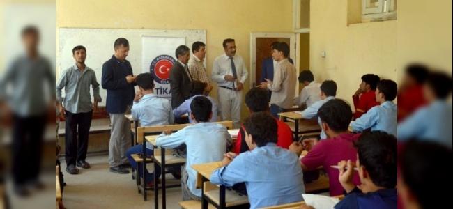TİKA'dan Afganistan'daki Eğitime Tam Destek