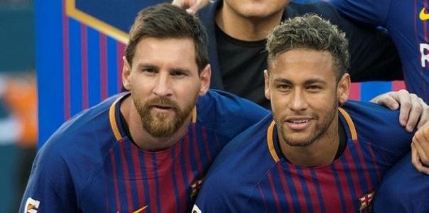 Messi Neymar Transferi Konusunda Sosyal Medyadan Paylaşım Yaptı