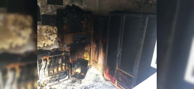 Ankara'da Yangın Paniği Yaşandı