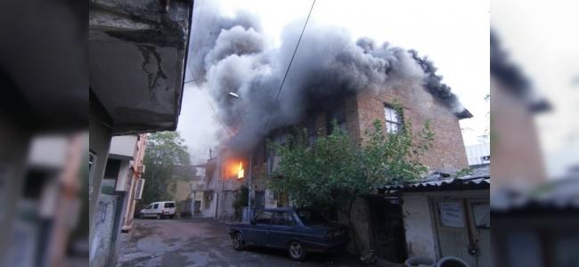 Antalya'da Meydana Gelen Yangın Korku Dolu Anlar Yaşattı