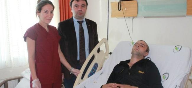 Nikahına 1 Gün Kala Kaza Yapan Damat Doktorlara Teşekkür Etti