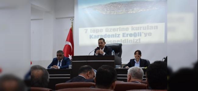 Ereğli Belediye Başkanı Turizm Konusunda Kolları Sıvadı