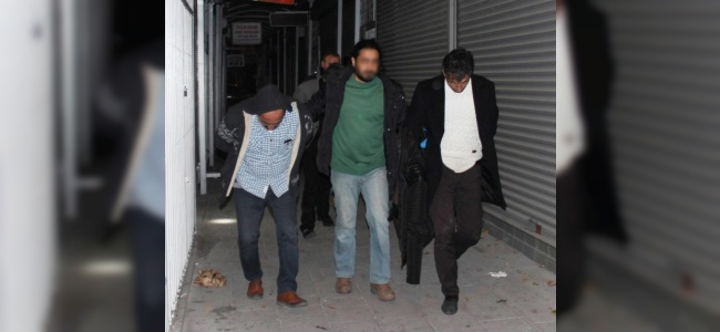 Kayseri'de Uyuşturucu Tacirlerine Baskın