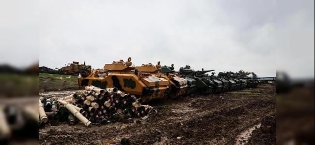 Afrin Harekatı Kapsamında Sızmaya Çalışan 8 Terörist Öldürüldü