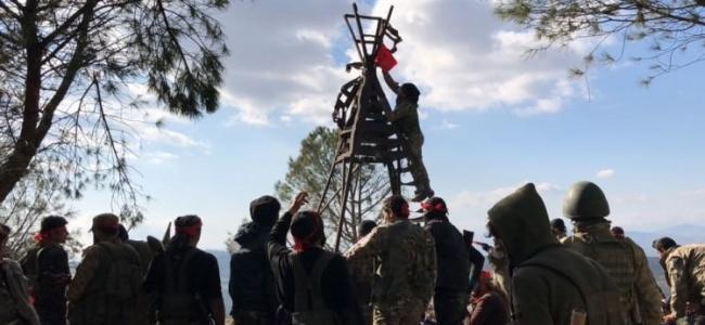 Afrin'den Burseya Dağı Müjdesi! Kontrol Sağlandı