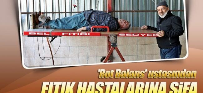 Rot Balans Ustası Bel Fıtığına Çareyi Buldu