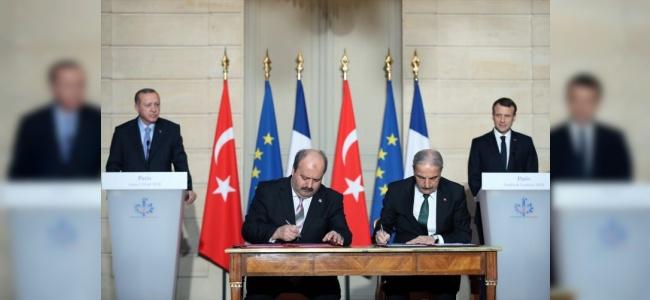 Türkiye ve Fransa Arasında Görüş Birliği Sağlandı