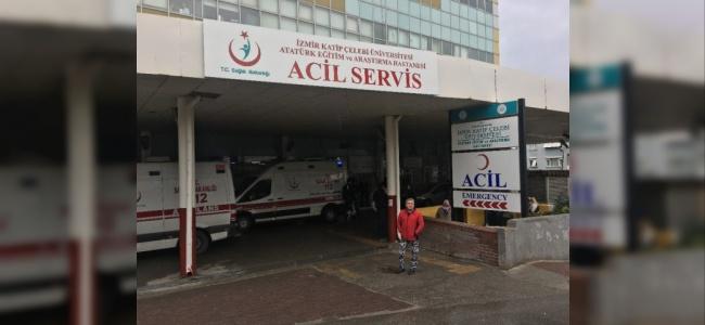 Zanlıyı Kovalarken Silahı Ateş Alan Polis Hastaneye Kaldırıldı