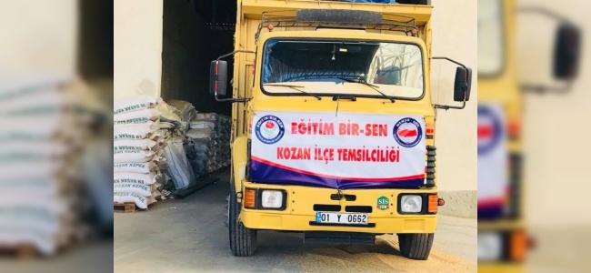 Afrin Harekatındaki Mehmetçiğe Kozan'dan 4,5 Ton Mandalina