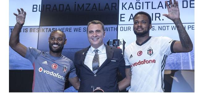 Beşiktaş'ta Yeni Transferler İçin İmza Töreni!