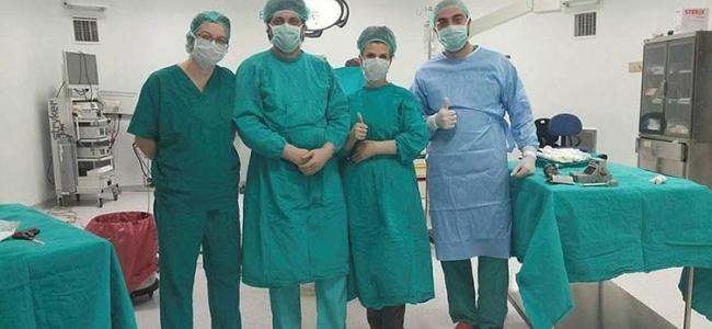 Çanakkale'de Yeni Açılan Yanık Ünitesinde İlk Operasyon Başarılı Sonuçlandı
