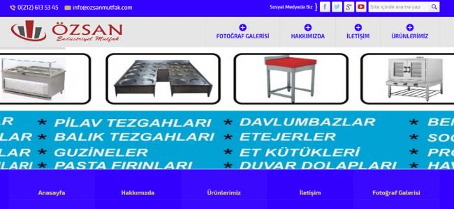 Endüstriyel Mutfak Ürünleri