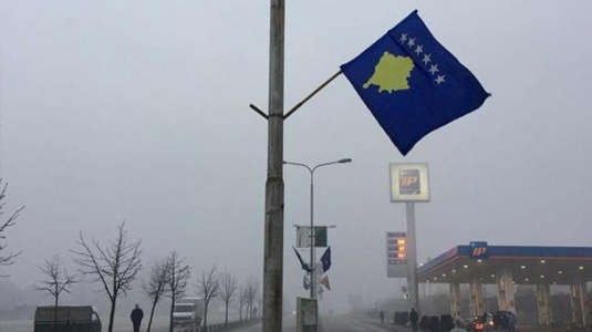 Kosova'da Asılı Türk Bayrağı'na Saldırı Yapıldı