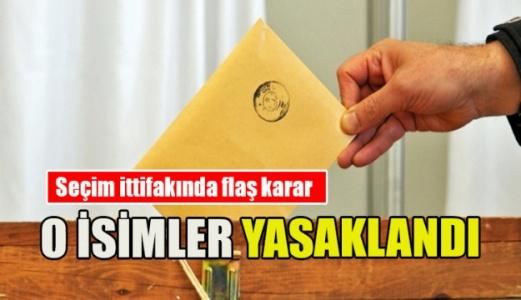 Seçim İttifakına Bu Sınırlamalar Getirildi!