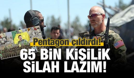 Pentagon'un 2019 Bütçesi: PKK'ya 65 Bin Kişilik Silah!