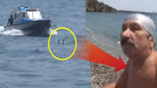 """Antalya Sahilinde Şaşırtan Olay! """"Gerizekalı, Ölürsem Ölürüm!"""""""