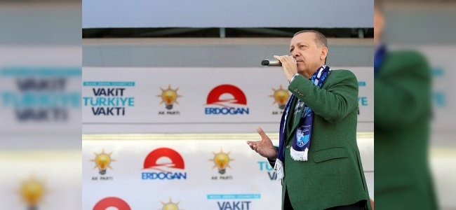 Erdoğan'dan İnce'ye Ayar: O Bisiklete Binmeye Devam Etsin!