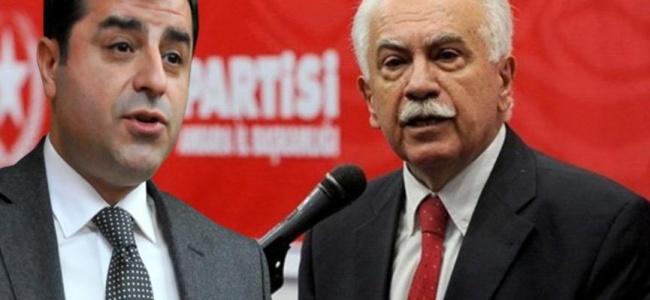 """Perinçek-Demirtaş Arasında """"HDP'yi Kapatma"""" Gerilimi!"""