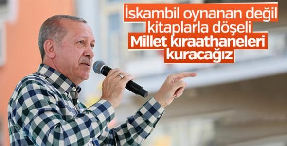 Cumhurbaşkanı Erdoğan'dan 'Millet Kıraathaneleri' Müjdesi!