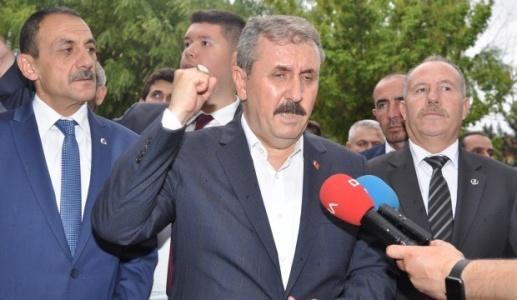 Destici'den Çok Sert HDP Çıkışı: Ha Öcalan, Ha Demirtaş!