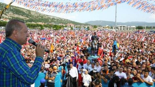 Erdoğan Muğla'da Konuştu: Bu Ara Muharrem'e Bir Şeyler Oldu