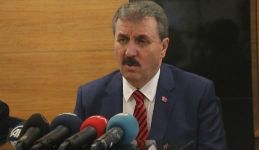 Mustafa Destici: HDP'ye Barajı Aştırmaya Çalışıyorlar