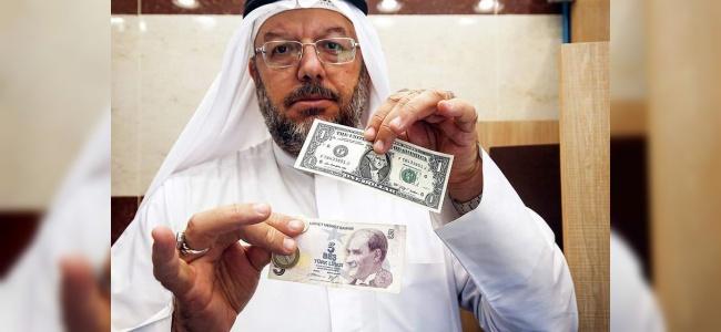 """Arap Ülkelerinden Destek! Lübnan'dan  """"Dolar Bozdur, TL Al"""" Kampanyası"""