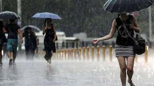 Meteoroloji'den 12 İlde Kuvvetli Yağış Uyarısı!