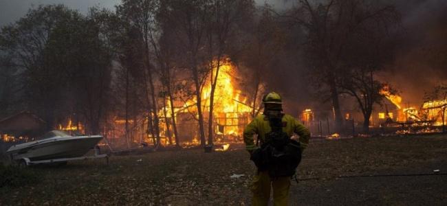 Kasaba Adeta Küller İçinde Kalırken Binden Fazla İnsan Tahliye Edildi