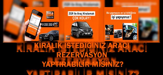 İzmir Araç Kiralama Fiyatları