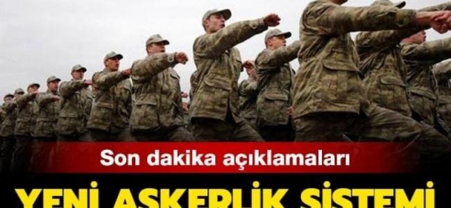 Askerlik süresini altı aya indiren madde Meclis Genel Kurulunda kabul edildi