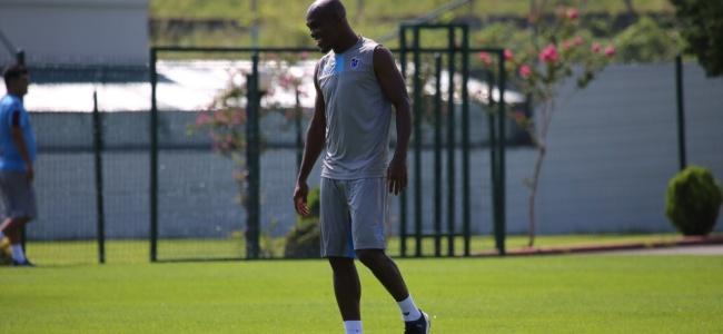 Trabzonspor'un yeni yıldızı Sturridge ilk antrenmanına çıktı