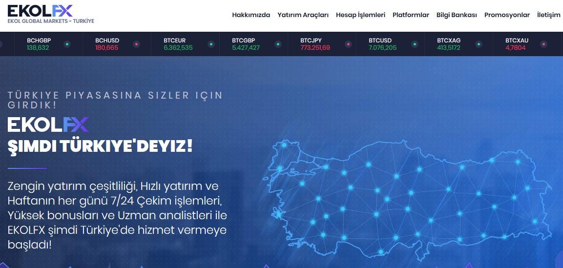 Ekol Forex Global Hesabı Açma