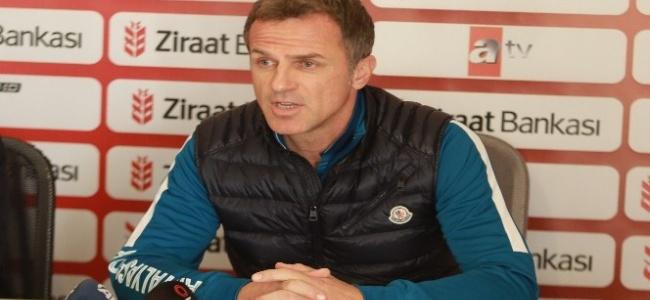"""Stjepan Tomas: """"Kupada ve ligde yolumuza devam edeceğiz"""""""