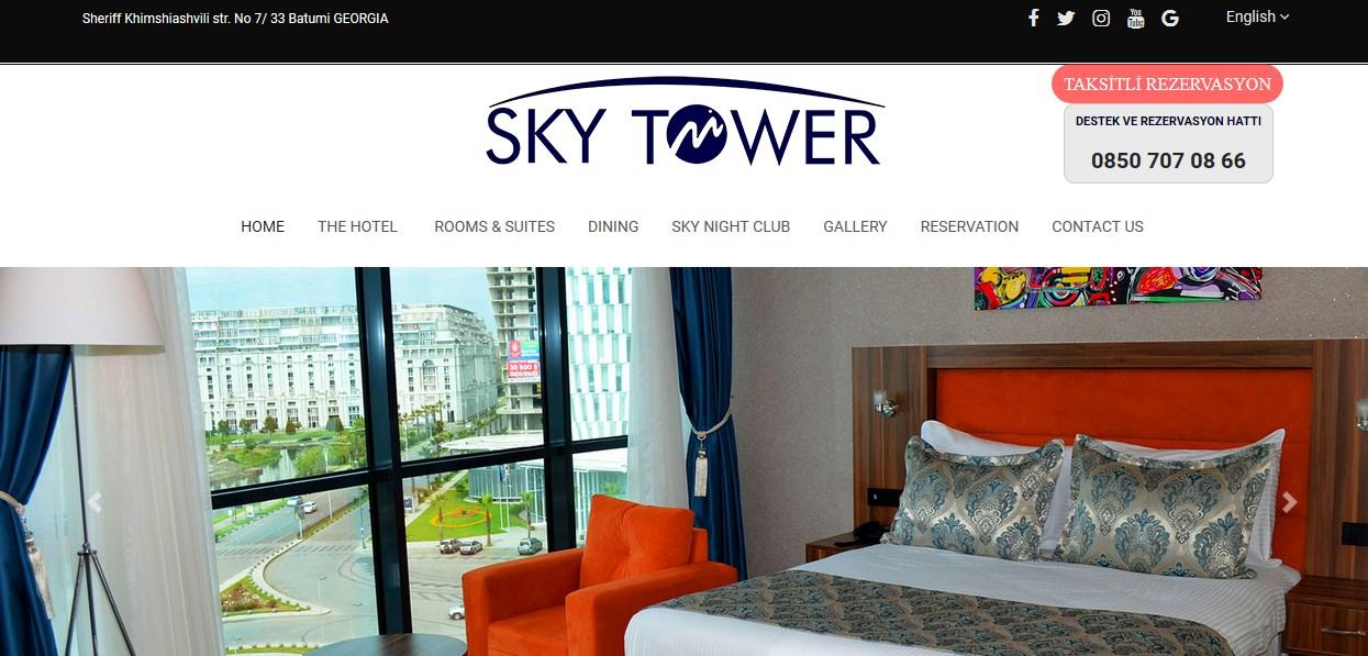Metro Sky Tower İle Batum'da Ayrıcalıklı Konaklama İmkanı