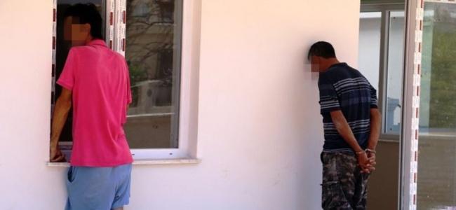 Antalya'da uyuşturucu satan bekçiye operasyon düzenlendi