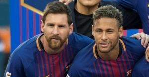 Messi Neymar Transferi Konusunda Sosyal...