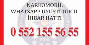 Samsun'da Uyuşturucunun Önüne Geçmek İçin Whatsapp Hattı Kuruldu
