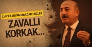 Mevlüt Çavuşoğlu'ndan CHP'li Yılmaz'a: Zavallı Korkak!