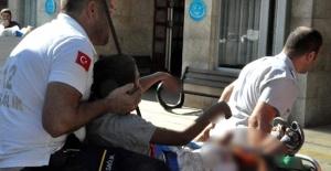 Bisikletten Düştü, Ağzından Giren Demir Çubuk Kafasından Çıktı!