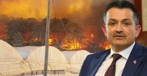 Tarım Bakanı Pakdemirli'den Antalya'daki Yangınla İlgili Açıklama!