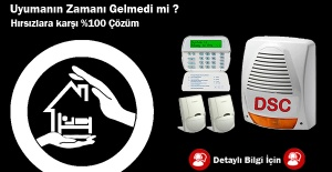 Bir Dünya Markası Olan DSC Alarmla Güvende Kalın