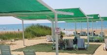 Manavgat'taki Çolaklı Plajı Baştan Aşağı Yenileniyor