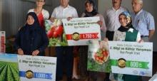 Antalya Korkuteli'nde Kadın Çiftçilerin Sınava Tabi Tutuldu
