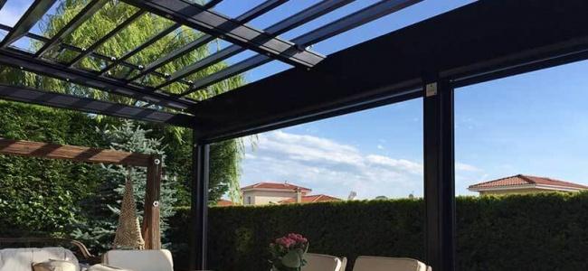 Maksimum Gölgelendirme İçin Rolling Roof Sistemleri
