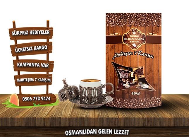 Osmanlı Kahvesinden Alınan İlhamla Elde Edilen Kahveler