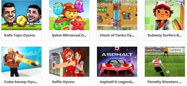 Ücretsiz Online Oyun Türleri